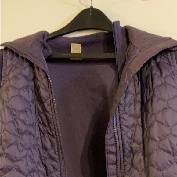 Llbean th insulate vest with matching  fleece